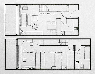 corbusier wohnmaschine. Black Bedroom Furniture Sets. Home Design Ideas